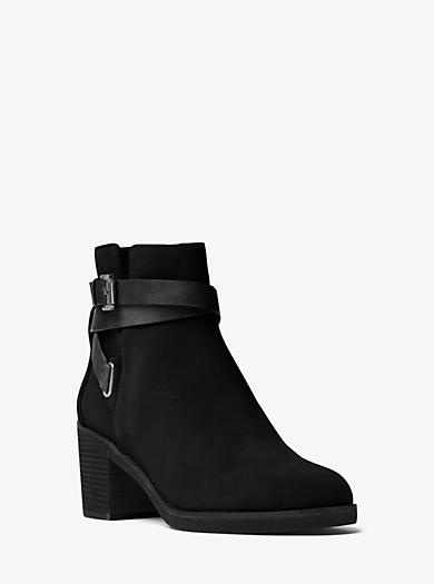 Fawn Suede Ankle Boot by Michael Kors