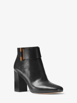 Gloria Leather Ankle Boot by Michael Kors