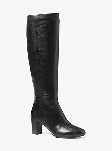 Lucy Leather Boot by Michael Kors