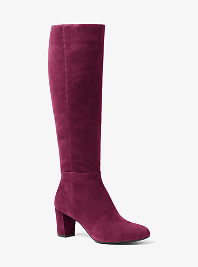Lucy Suede Boot by Michael Kors