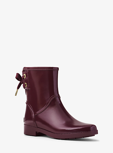 Larson Rubber Rain Boot by Michael Kors
