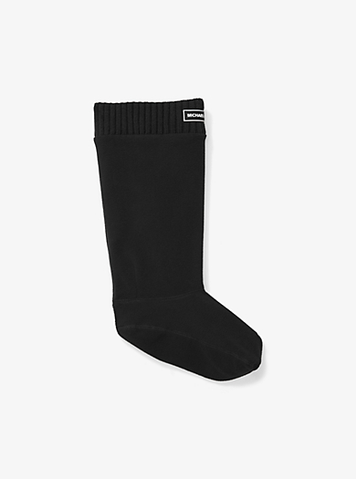 Logo Knit Boot Socks by Michael Kors
