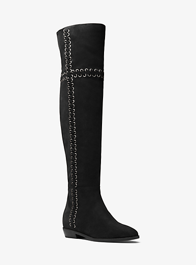Malin Grommet Suede Boot  by Michael Kors