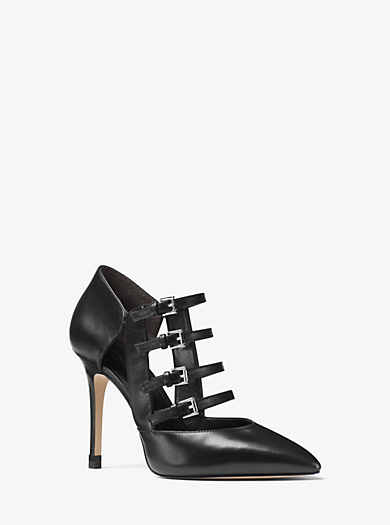 Marta Leather Pump by Michael Kors