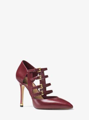 Marta Leather Pump by Michael Kors