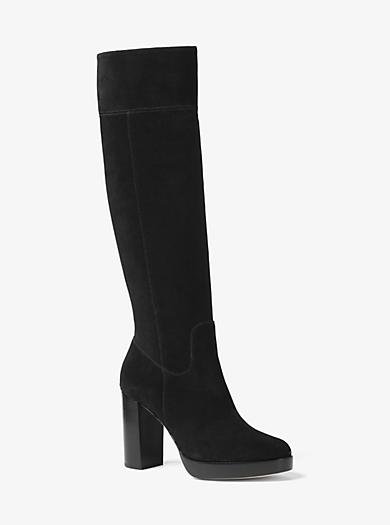 Regina Suede Boot by Michael Kors