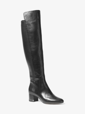 Sabrina Over-The-Knee Leather Boot by Michael Kors