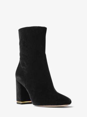 Ursula Velvet Ankle Boot by Michael Kors