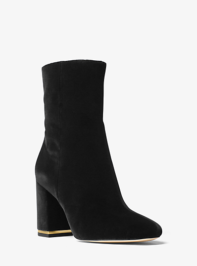 Ursula Velvet Ankle Boot by Michael Kors