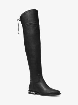 마이클 마이클 코어스 제이미 니하이 부츠 블랙 MICHAEL MICHAEL KORSJamie Stretch Over-The-Knee Boot, BLACK