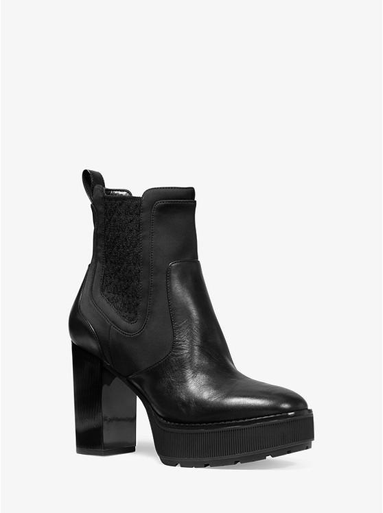 Cramer Leather Platform Boot | Michael Kors
