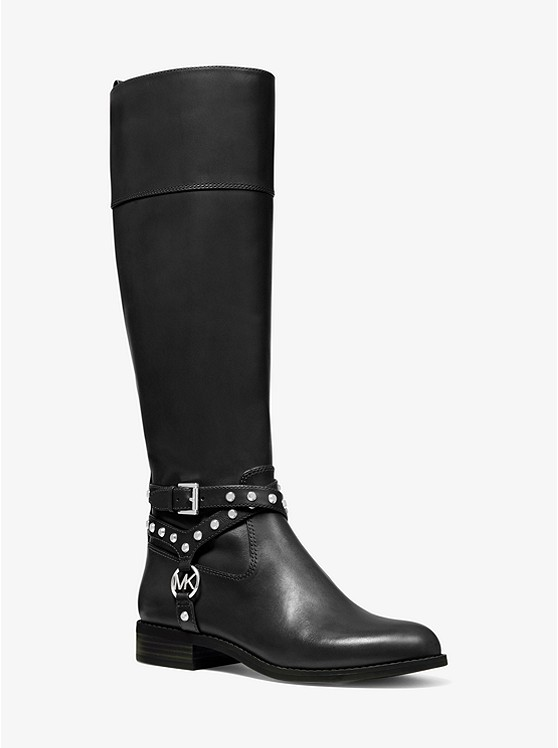 Preston Studded Leather Boot | Michael Kors
