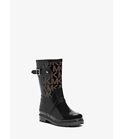 Logo Rubber Rain Boot by Michael Kors