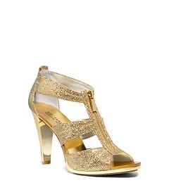Berkley Glitter Zip Sandal