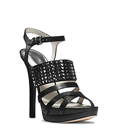 Arabella Leather Platform Sandal
