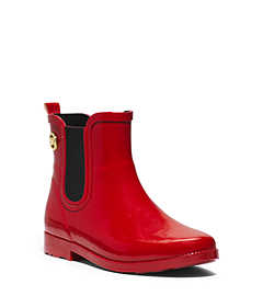 Short Rubber Rain Boot