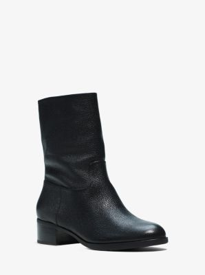 Pierce Leather Boot  by Michael Kors