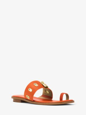 Antoinette Leather Sandal by Michael Kors