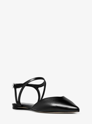 Ciara Leather Flat by Michael Kors