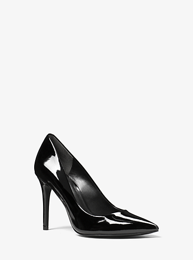 Claire Patent-Leather Pump by Michael Kors