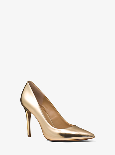 Claire Metallic Pump by Michael Kors