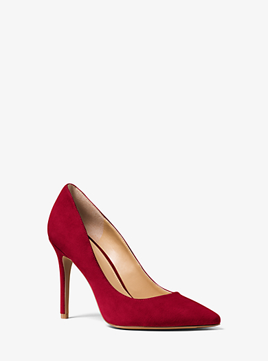 Claire Suede Pump by Michael Kors