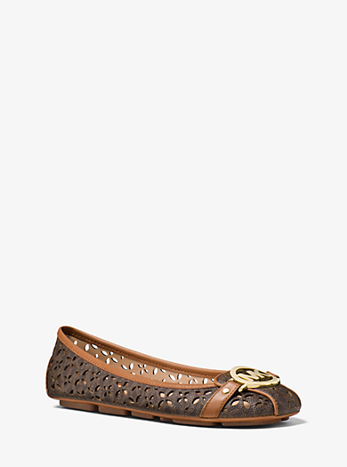 Fulton Perforated Logo Moccasin by Michael Kors