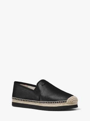 Hastings Leather Slip-On Espadrille by Michael Kors