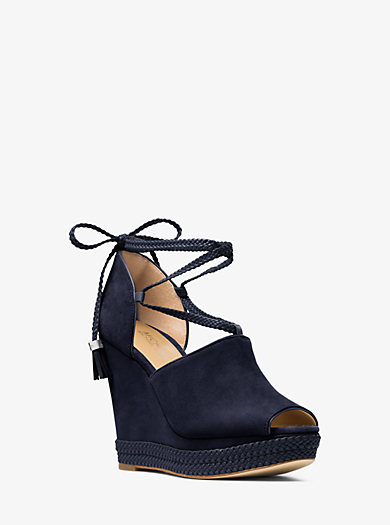 Wedge Hastings aus Wildleder mit Schnürung by Michael Kors