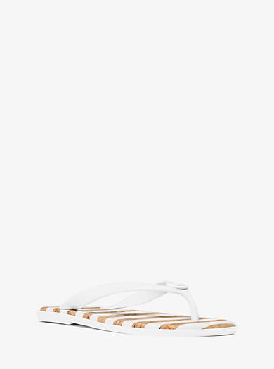 Flip-Flops Jet Set aus Gel by Michael Kors