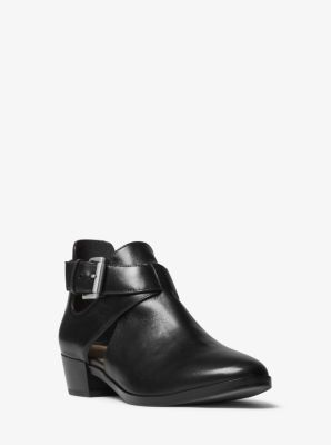 Women's Designer Suede And Leather Boots   Michael Kors