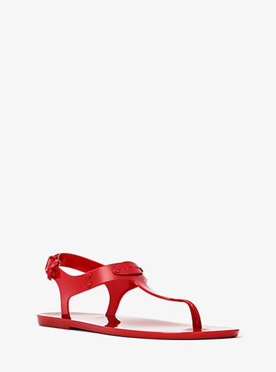 Jelly-Sandale mit Logo by Michael Kors