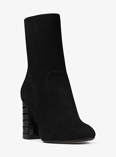 Yoonie Suede Ankle Boot by Michael Kors