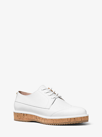 Zane Leather Brogue by Michael Kors