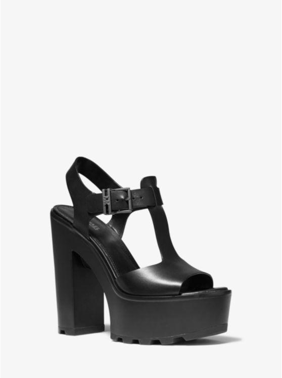 Sinead Leather Platform Sandal