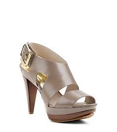 Carla Leather Platform Sandal