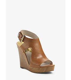 Josephine Leather Wedge