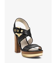 Calder Leather Platform Sandal