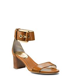 Calder Leather Ankle-Strap Sandal