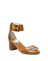 Calder Leather Ankle-Strap Sandal