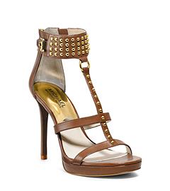 Celena Studded Leather Sandal