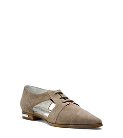 Graham Cutout Suede Oxford
