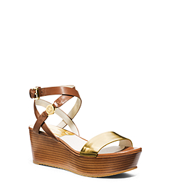 Jalita Leather Platform Sandal