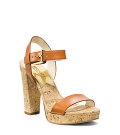 London Cork Platform Sandal