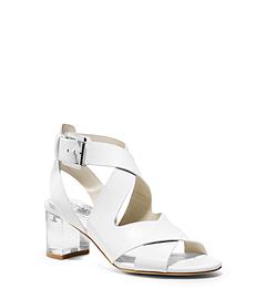 Maribella Lucite Sandal