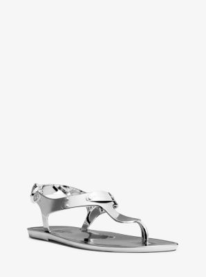 Metallic Jelly Sandal