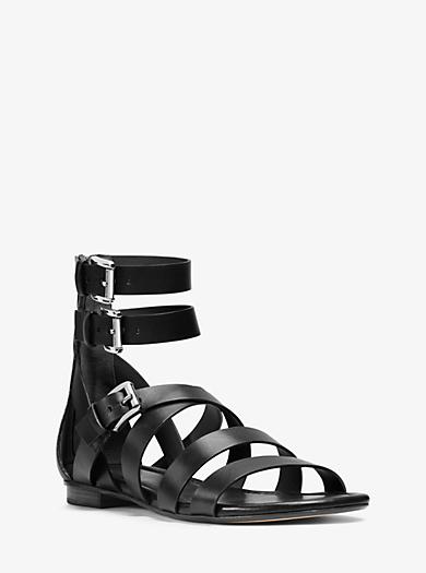 Jocelyn Leather Sandal  by Michael Kors