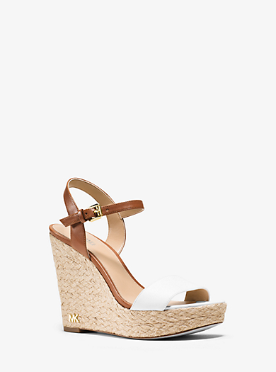 Jill Leather Wedge  by Michael Kors