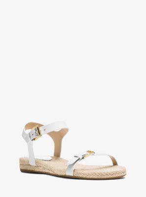 Kyla Leather Sandal  by Michael Kors