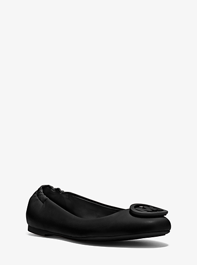 Lindsay  Leather Flat by Michael Kors
